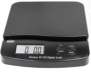 Horizon SF-550 55 磅 x 0.1 盎司数字邮寄秤 带计数功能 自动读取 精确度 1 克