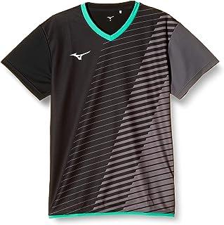MIZUNO 美津浓 羽毛球服 比赛衫 短袖 72MA0021