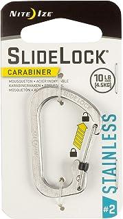 Nite Ize Size Biner SlideLock 登山扣 不锈钢色 #2 CSL2-11-R6