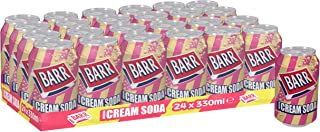 Barrs Cream Soda 330 ml (Pack of 24)