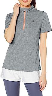 le coq sportif 训练半拉链衫 半拉链衫短袖衫 女士