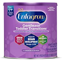 Mead Johnson 美赞臣 Enfragrow, Gentletease 幼儿过渡奶粉 9-18个月 20 盎司…