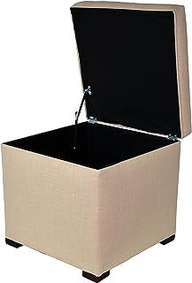 MJL 家具设计 Tami 系列内胆升降顶方形储物软垫/脚凳