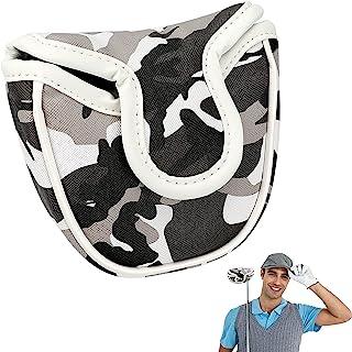 Laelr 高尔夫推杆套,高尔夫头套推杆套,带磁扣,高尔夫球杆头套保护高尔夫配件