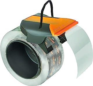 Tape Terror Pro 级包装胶带分配器,准确切割胶带而不失去边缘,非常适合大多数 5.08 厘米宽的胶带(分配器适用于 7.62 厘米芯卷)