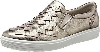 ECCO 爱步 Women's Soft 7 Woven 女士时尚轻便运动鞋