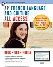AP French Language & Culture All Access w/Audio: Book + Online + Mobile (Advanced Placement (AP) All Access) (English Edit...