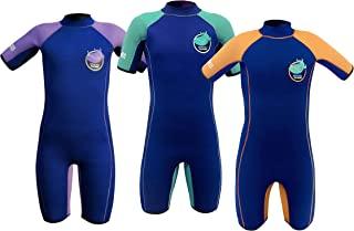 TEAM MAGNUS 儿童潜水服 – 独特的 5mm 氯丁橡胶短款 – 极具隔热性和弹性,适合 3-14 岁儿童