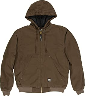 Berne Men's Big & Tall Original Washed Hooded Jacket