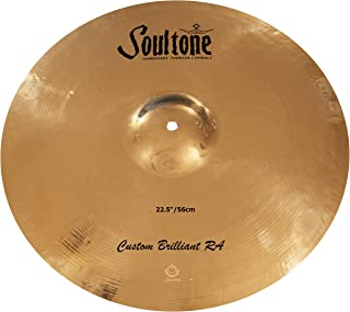 Soultone Cymbals Custom Brilliant RA,22.54 厘米吊镲(CBRRA-CRR22.5)