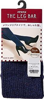 ATSUGI 厚木 女士 紧身裤 Atsugi The Leg BAR 日本制 450D 混纺罗纹 含羊毛 BL1682