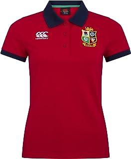Canterbury 女式英国和爱尔兰狮子橄榄球家乡 Polo 衫