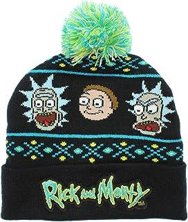 Bioworld 成人 Rick and Morty 无檐小便帽 黑色