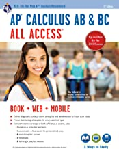 AP® Calculus AB & BC All Access Book + Online (Advanced Placement (AP) All Access) (English Edition)