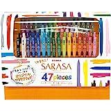 ZEBRA 凝胶圆珠笔 SARASA CLIP 45支套装 附带2支原装SARASA JJ15-45C-2OM