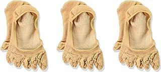 [GUNZE 郡是] 船袜 Tuche 牢固不松脱 五指袜 超浅袜 同色3双装 TQK517 女士