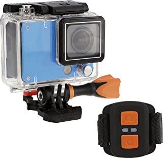 Rollei Actioncam 420 - 1200万像素 WiFi 摄像机,4K 和 2K 视频分辨率 - 蓝色