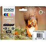 EPSON 爱普生 Original 378 松鼠墨盒(XP-8500 XP-8600 XP-8605,Amazon D…