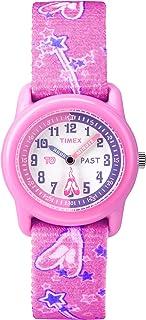 Timex 天美时 Girls Time Machines 指针式松紧织物表带手表