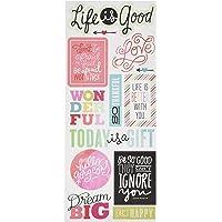 Me & My Big Ideas Sayings 贴纸,Life is Good 1包 STP-164