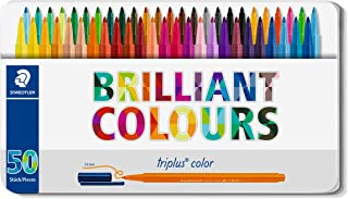 Staedtler(施德楼) Triplus彩色笔(纤维笔头)桌面盒套装