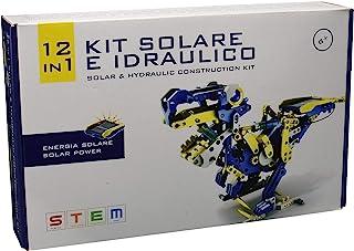 SELEGIOCHI OW39365 12 合 1 太阳能和水压套装,黄色/蓝色/白色