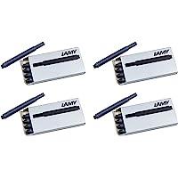 LAMY 凌美 T10钢笔墨盒4个(LAM-T10-BLK4PAC),黑色