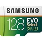 Samsung 三星:EVO Select 128GB MicroSDXC UHS-I U3 100MB/s 全高清和…