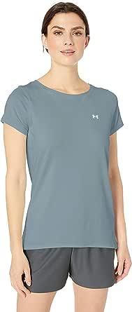 Under Armour 安德玛 UA Heatgear Armor Gym 女士轻便透气的4向弹力面料跑步T恤
