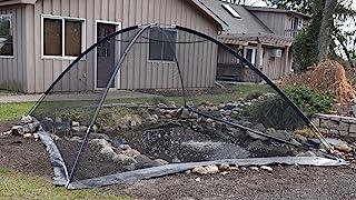 EasyPro PCT810 池塘花园盖保护网帐篷圆顶网 243.84 厘米 x 304.32 厘米