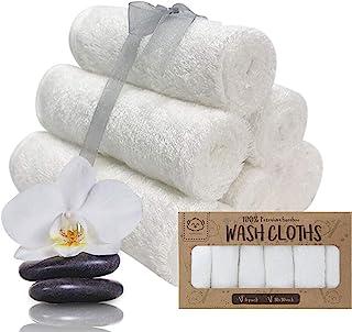 KeaBabies 婴儿毛巾-竹纤维毛巾-柔软的婴儿毛巾-小童,成人和婴儿的面巾-婴儿毛巾(白色)
