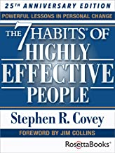 The 7 Habits of Highly Effective People: Powerful Lessons in Personal Change (25th Anniversary Edition) (English Edition)