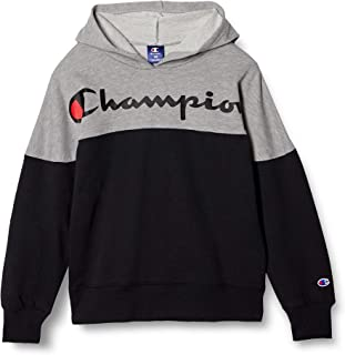 [Champion] 连帽卫衣 字母标志 套头连帽运动衫 男孩 运动 CK-TS104