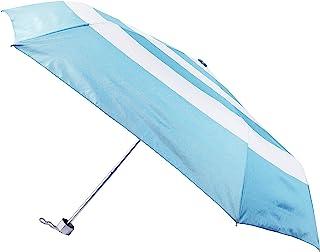 PEARL METAL 珍珠金属 折叠伞 53 厘米 晴雨两用 UPF50+ 带收纳盒 横条纹 威尼通 UY-6008