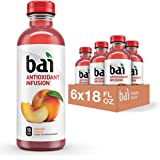 BAI 巴拿马桃子, infused 饮料,4盎司(6瓶装)