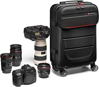 Manfrotto 曼富图 Trolley Tough 摄影拉杆箱MB PL-RL-S55  Reloader Spin-55 黑色