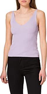 JdY 女士 Jdynanna S/L 上衣 KNT Noos 吊带衫/ami 衬衫 紫色 S