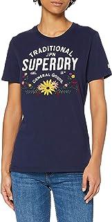 Superdry 极度干燥 女士 民间花卉 T 恤