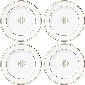 Lenox 联邦金块交织字母餐具 字母 R 872213