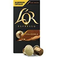 L'OR 哥倫比亞濃縮咖啡膠囊 濃度8 - Nespresso兼容 (10盒, 共100粒膠囊)