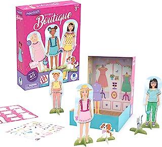 Educational Insights 纸艺甜美精品,纸玩偶,时尚精品玩具,复活节篮子填料,适合 3 岁及以上儿童
