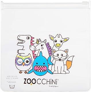 Zoocchini【日本正品】多袋帆布鞋的伙伴们透明 1个装 ZOO23201