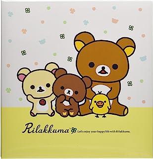 Nakabayashi 卡通人物 L尺寸 相册 螺丝式 白色底纸10张 A-LF-1008 轻松熊A