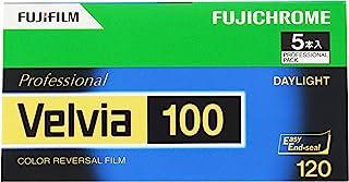 Fujifilm 富士 胶片 反转胶片 Fujichrome Velvia 100 12张 5个 120 VELVIA100 EP NP 12EX 5