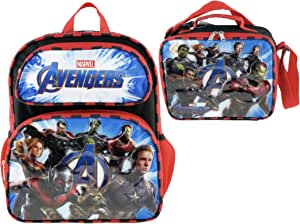 Marvel Avengers Endgame 16 英寸背包 + 隔热午餐盒 + 笔记本带笔