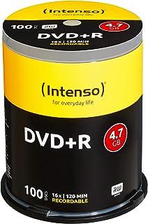 Intenso 4111156 DVD+R 16x 100 Pack 蛋糕盒