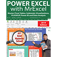 Power Excel 2019 with MrExcel: Master Pivot Tables, Subtotal…