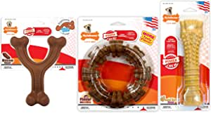 Nylabone Power Chew 耐用狗狗玩具,适合激进的咀嚼玩具大型犬玩具套装