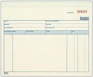 Adams 服务单元套装发票,7.44 x 8.5 英寸,3 部分,无碳白色/煤粉色,每包 50 套 (NCT8745)