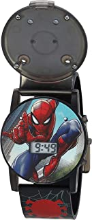 Marvel 漫威 男童石英手表,塑料表带,多色,15(型号:SPD3500A-AZ)